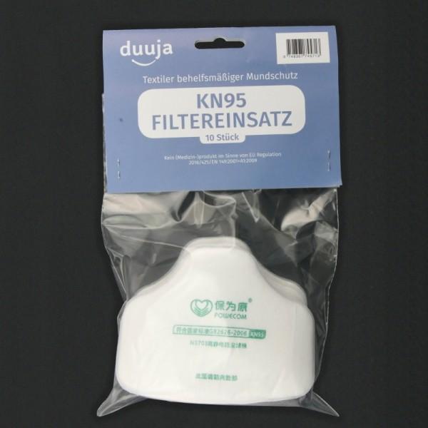 Einsatzfilters KN95 (set mit 10 Filtern)