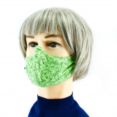 Gesichtsmaske - Hell/dunkelgrün