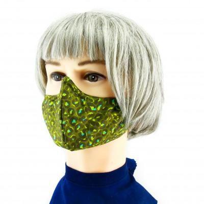 Gesichtsmaske - Camoflage grün